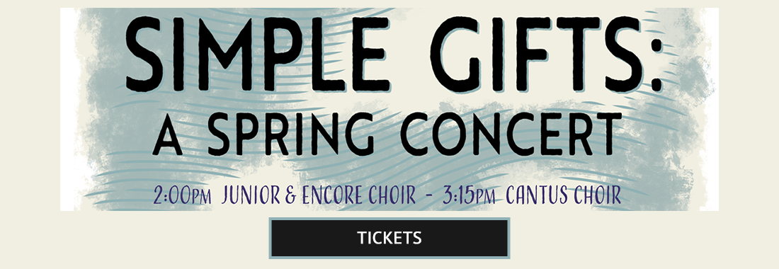 Simple Gifts: A Spring Concert