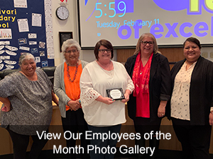 View our Employees of the Month Photo Gallery