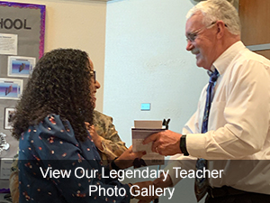 View Our Legendary Teachers Photo Gallery
