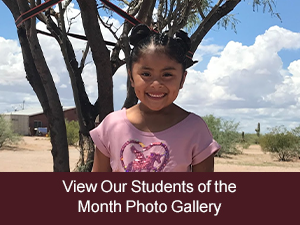 View Our Students of the Month Photo Gallery