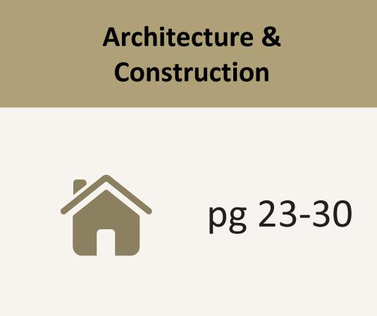 Architecture & Construction pages 23-30