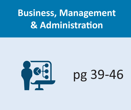 Business & Administration pages 39-46