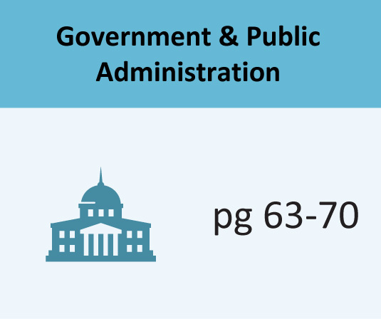 Government & Public Administration pages 63-70