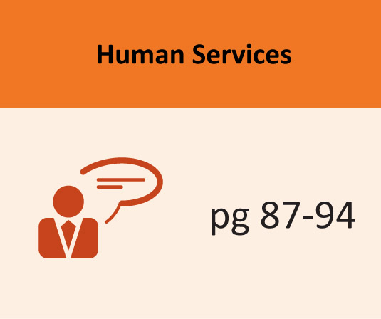 Human Services pages 87-94