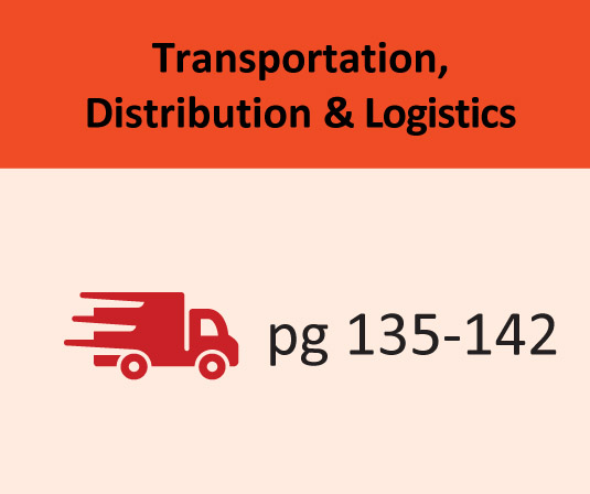 Transportation, Distribution & Logistics pages 135-142