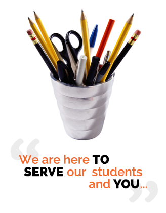We are here to serve our students, and you...