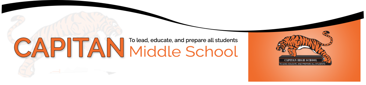 Capitan Middle School To Lead, Educate, and Prepare All Students