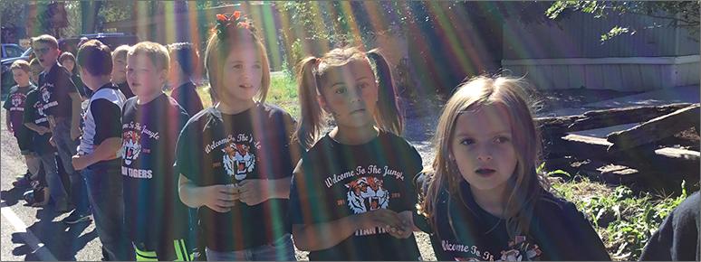 Sun on Tigers