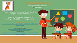 Kindergarten Preregistration flyer