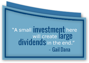 Gail Dana quote