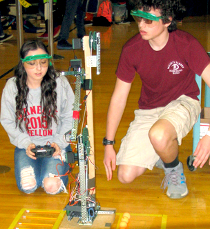 Ridgway Robotics Students