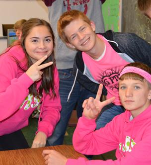 Ridgway Students