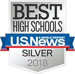 BEST HIGH SCHOOLS U.S. News SILVER 2017