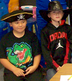 Francis S. Grandinetti Elementary School students