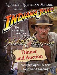 Indiana Jones RLS Gala 2009 poster