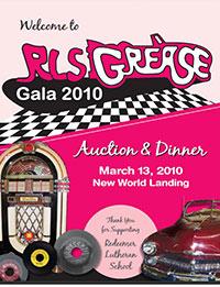 Grease RLS Gala 2010 poster