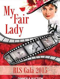My Fair Lady RLS Gala 2015 poster