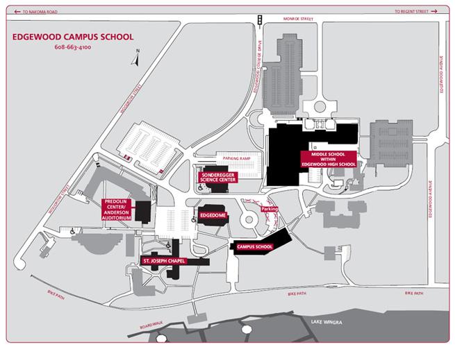Edgewood Campus Map