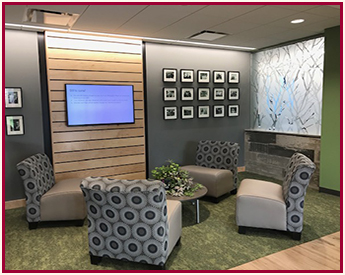 Edgewood student lounge