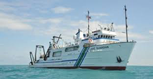 The ship that Ms. Carly Ziegler did research on when it was in Lake Ontario