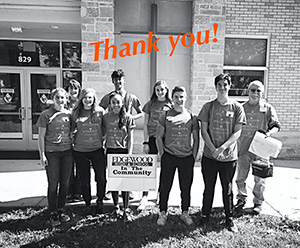 Thank you!  Edgewood Campus School alumni