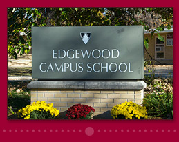 Edgewood Campus School Marquee