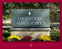 Edgewood Campus School Marquee