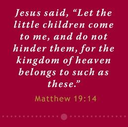 Matthew 19 14