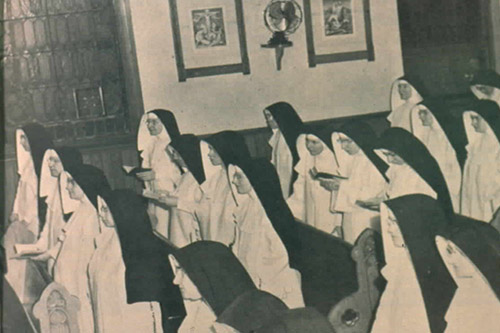 Sisters in Chapel (1940's)
