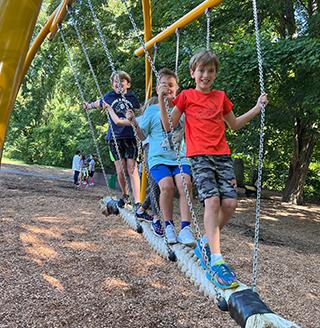 Three Girls Hugging
