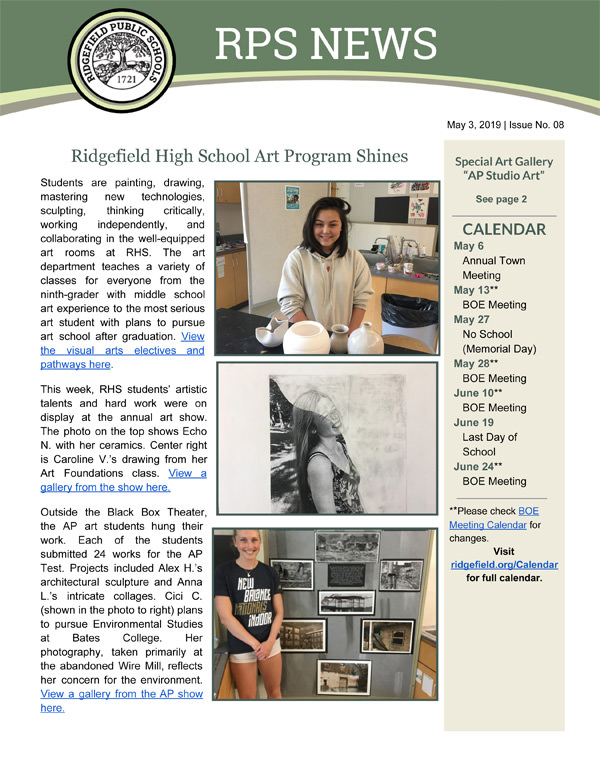 RPS News - May 3, 2019 - Page 1