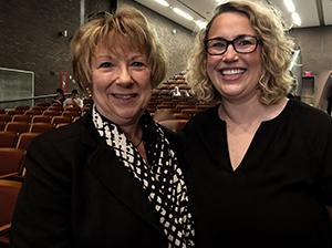 Teachers pose together