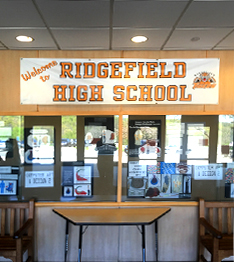 Welcome to Ridgefield High School banner