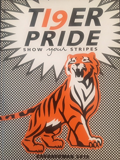 Yearbook cover Tiger Pride Show your stripes