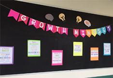 Growth mindset display board