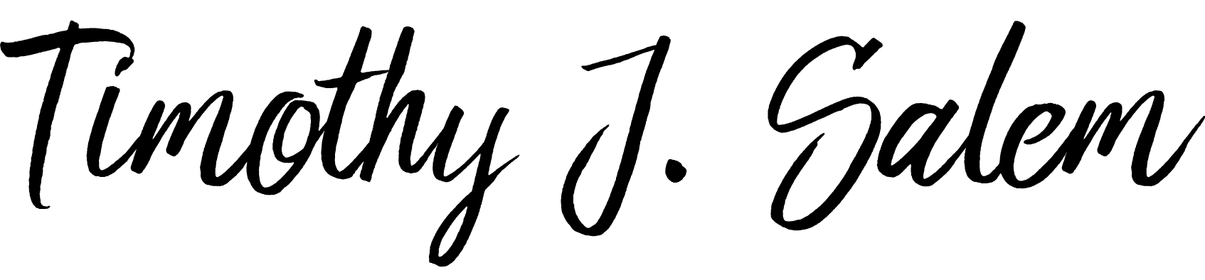 Timothy J. Salem signature