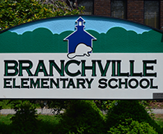 Branchville Elementary School sign