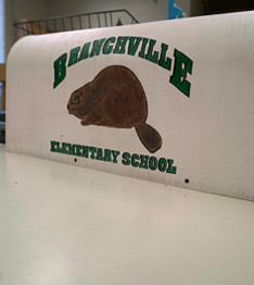Branchville Elementary School beavers sign