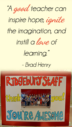 A good teacher can inspire hope, ignite the imagination, and instill a love of learning. -Brad Henry