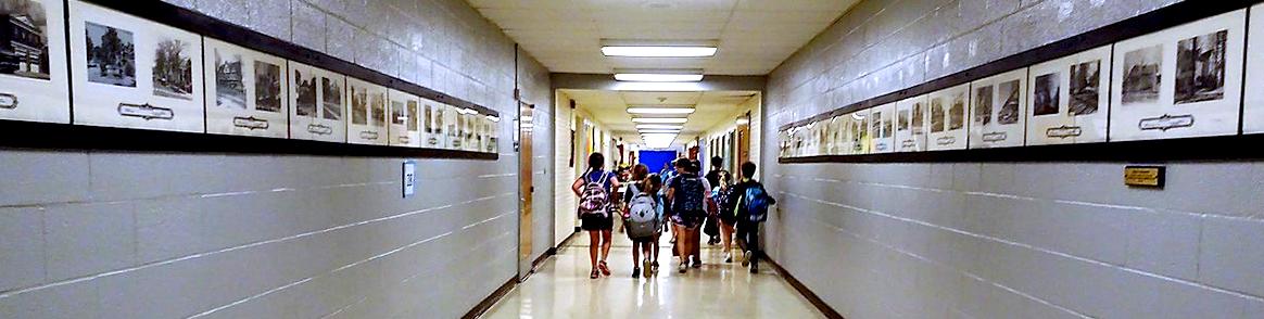 1-Veterans Park Elementary School Hallway