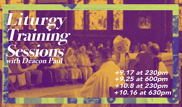 Liturgy Training Sessions