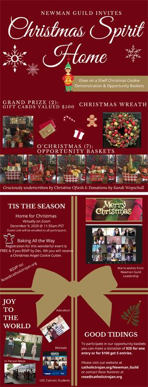 Christmas Spirit Home flyer