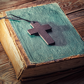 Cross and Holy Scriptures