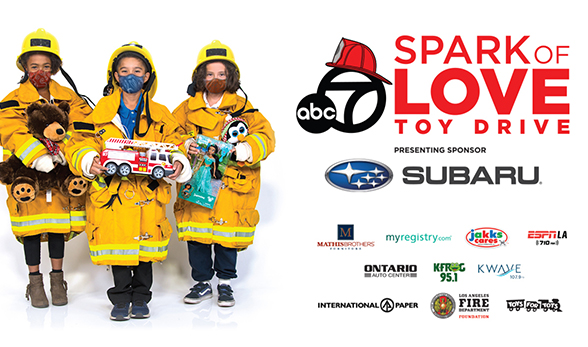 Spark of Love Toy Drive 2020