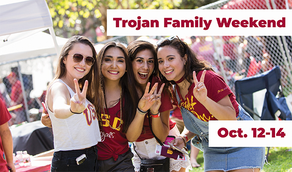 Trojan Family Weekend 2018