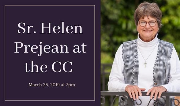 Sr. Helen Prejean at the CC