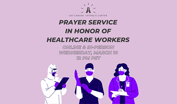 Prayer Service in Honor of Healthcare Workers