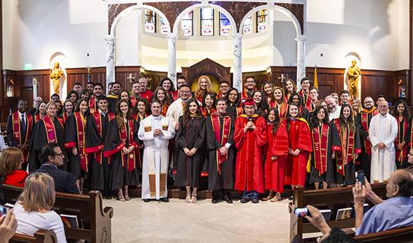 Graduating Students Mass