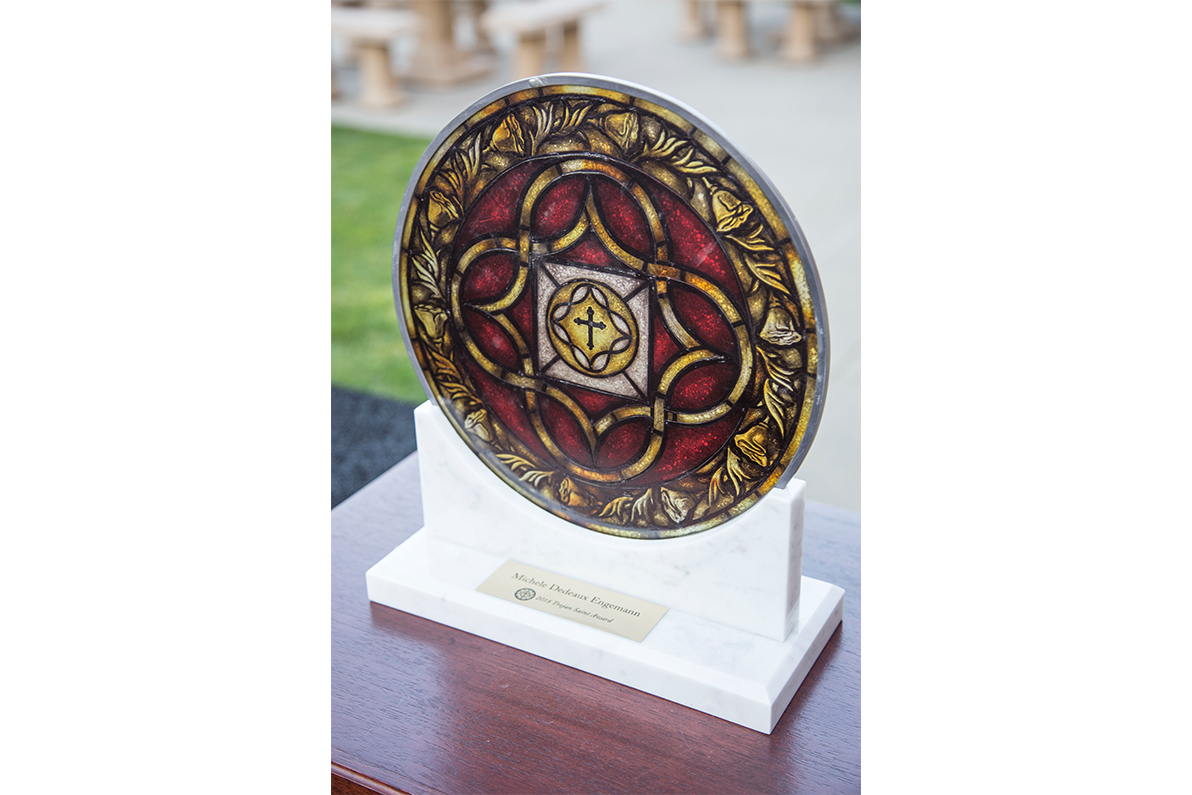 Trojan Saint Award