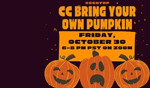 CC Bring Your Own Pumpkin Flyer